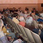 Audience at The truth and beyond: Creative non-fiction, September 27, 2013. Taken by Bruce Bloy.