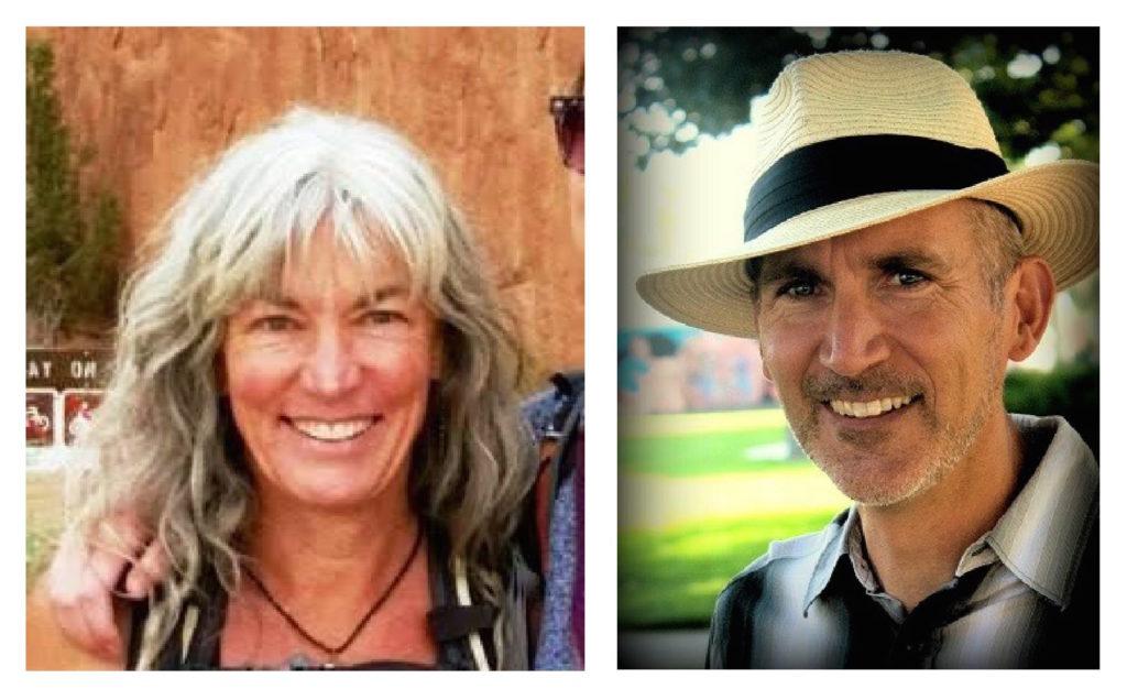 Mary O'Loughlin and Chris Lemme